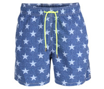 Badeshorts Gustavia Starlight mit Sternen-Print