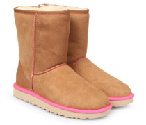 Lammfell-Boots Classic Short Neon Camel