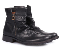 Zipper Boots Eternity Ennio Nero