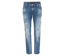 Skinny Jeans Karen Hellblau