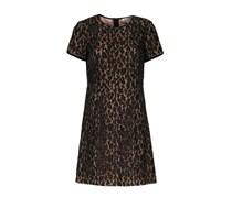 Kleid Mit Leo-spitze