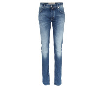 Slim Jeans Pw688 Comfort 003 Mid Blue Washed