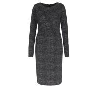 Kleid Mit Seitlicher Drapierung Salz & Pfeffer-look