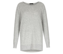 Oversized Pullover Im Woll-cashmere Mix Light Grey