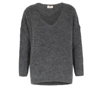 V-pullover Vacaville Im Woll-mix Heather Grey