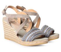 Sandaletten Evita mit Nietendetails Ante Gris
