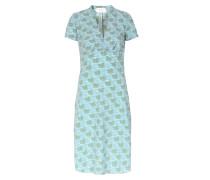 Kleid Edita Mit Schwanen-muster