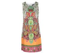 Seiden-kleid Mit Orientalischem Paisley-muster