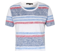 Gestreiftes Baumwoll-t-shirt Carl Multicolor