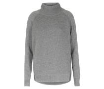 Rollkragenpullover Im Woll-cashmere Mix Grey