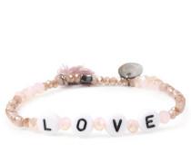 Armband Love Beige