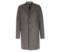 Schurwoll-Mantel Beige Grey
