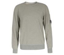 Baumwoll-sweater Mittelgrau