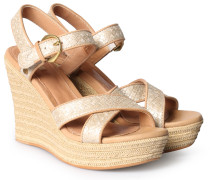 Wedges Jazmine Metallic Soft Gold