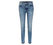 Skinny Jeans Remote Mittelblau