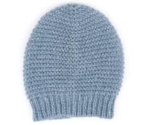 Mütze im Mohair-Merino Mix mit Lurex-Detail Allure