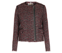 Blazer Okarli In Tweed Optik Red/black