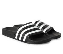 Adilette Slipper Noir Blanc