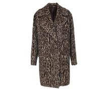 Mantel aus Schurwoll-Alpaka-Mix Leo