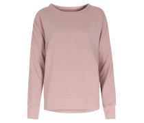 Sweater Mit Glitzerpaspelierung Mauve