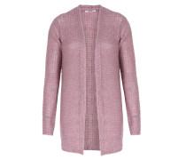 Cardigan Im Loose-knit-look Mauve