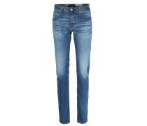 Slim-Straight Jeans The Matchbox Mittelblau