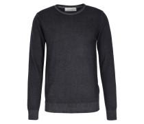 Cashmere-Pullover mit Rundhalsausschnitt Anthra