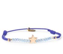 Armband Real Star Gold Royal Blue