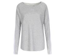 Sweater Im Baumwoll-cashmere-mix Mit Galonstreifen