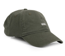 Cap Low Profile mit Logo-Stitching Khaki