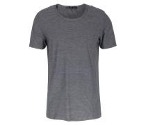Gestreiftes Baumwoll-t-shirt Carl Grau