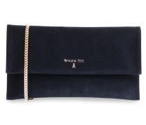 Clutch aus Samt Dress Blue