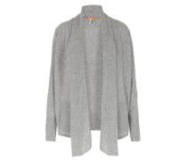 Schurwoll-cardigan Light Grey