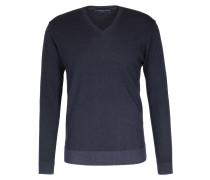 Pullover Mit V-ausschnitt Aus Merinowolle