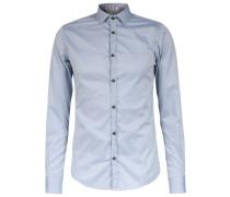 Slim-fit Baumwoll-hemd New-kent-kragen