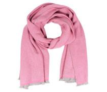 Wollschal Mit Cashmere Pink