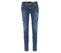 Skinny Jeans The Legging Ankle Dunkelblau