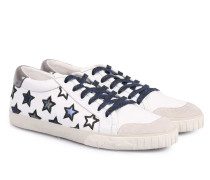 Sneakers mit Sternenmuster Offwhite