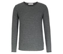 Cashmere-pullover Mit Rollkante Striped
