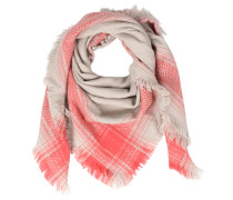 Oversized Woll-tuch Opal Spice Coral