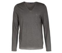 Schurwoll-pullover Rafal V-neck Olive