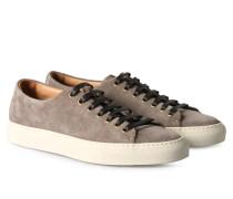 Veloursleder-Sneaker Tanino Taupe
