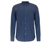 Baumwoll-hemd Button-down Blue Hour