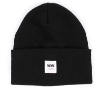 Mütze aus Merinowolle Black