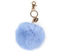 Schlüsselanhänger Rauchblau