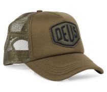 Mesh Cap Shield Trucker Olive