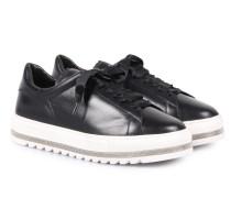 Sneakers mit Schmuck-Detail Black