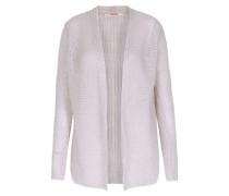 Cardigan Im Loose-knit-look Light Pepple