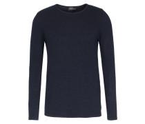 Pullover mit strukturiertem Finish Dunkelblau