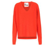 Pullover im Angora-Mix Orange